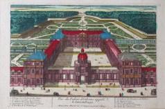 Gravure ancienne du Palais d'Orléans