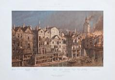 Gravure ancienne de la Cité