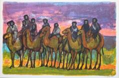 Caravane - gravure ancienne