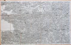 Carte ancienne de Saint Paul de Léon - Cassini
