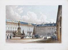 Lithographie ancienne de Vienne