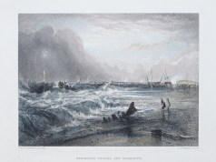 Lithographie ancienne de Yarmouth