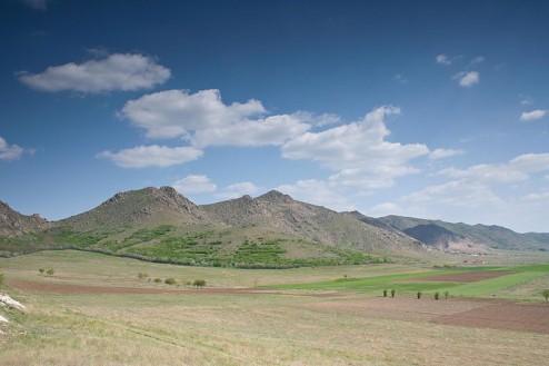 Zona Greci vazuta de la est de Culmea Pricopanului