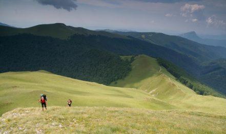 Plaiuri mioritice / Creasta Oslei, Oslea, Muntii Valcan, Gorj, Hunedoara