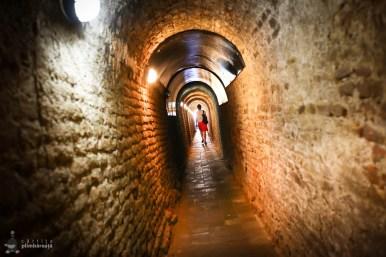 Alba Iulia - tunel de acces sant aparare