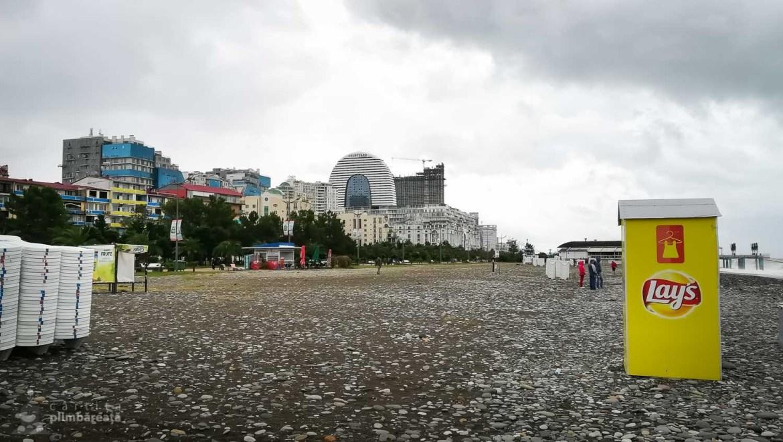 Nisipul fin din Batumi