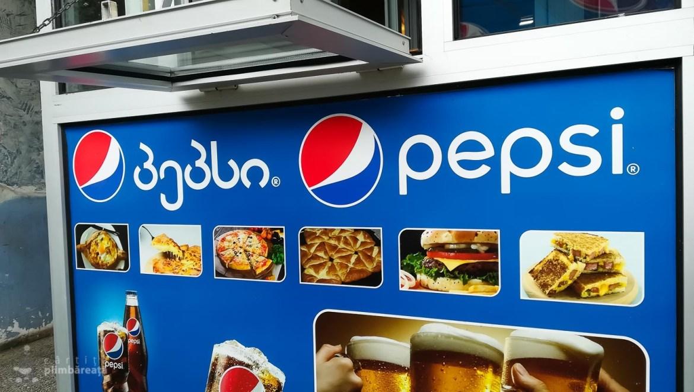 Am invatat 4 litere :) de la Pepsi