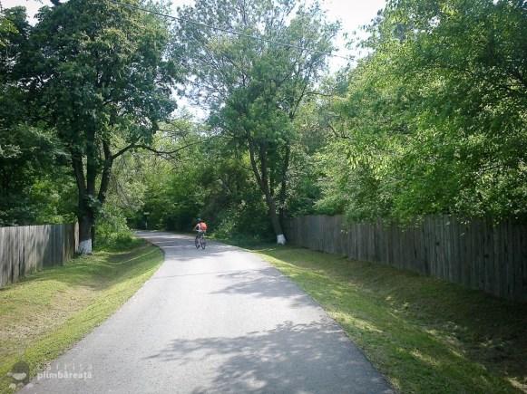 Bicicleta- soc - maci si natura la Manastirea Tiganesti_03