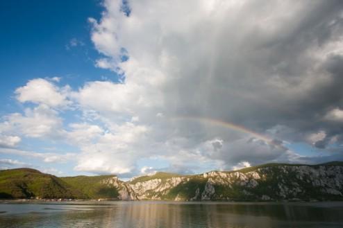 Curcubeu x2 in Cazanele Dunarii