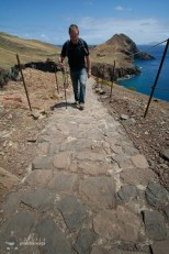Asa arata un traseu amenajat - Peisaj superb si trasee sigure - Madeira - Peninsula Sao Laurenco