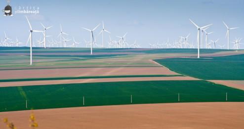 Turbine eoliene in Dobrogea