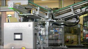 CARTOBOL INTERPRO Posicionador automático de rejillas para botellas