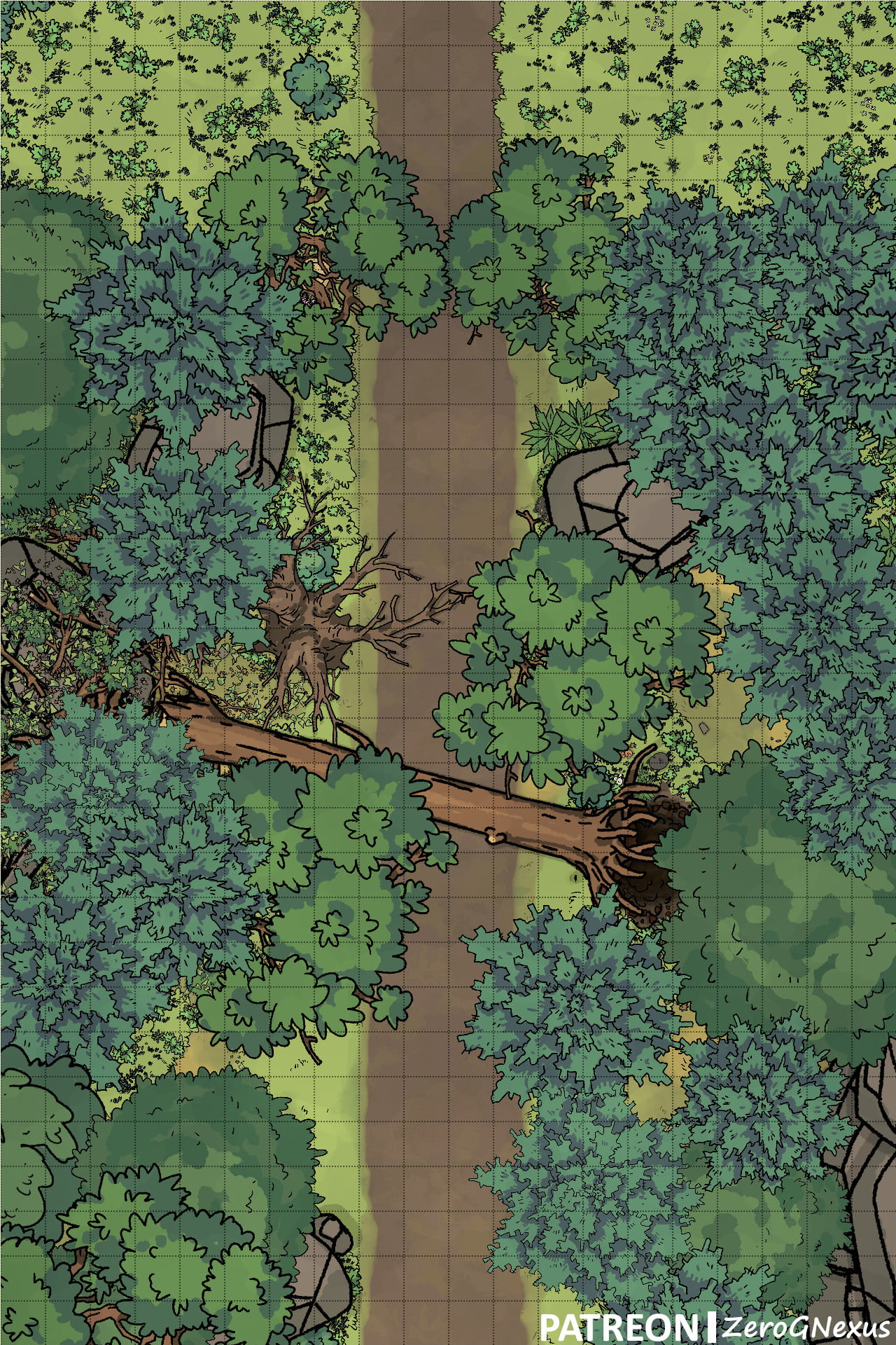 Forest Road 3, Canopy