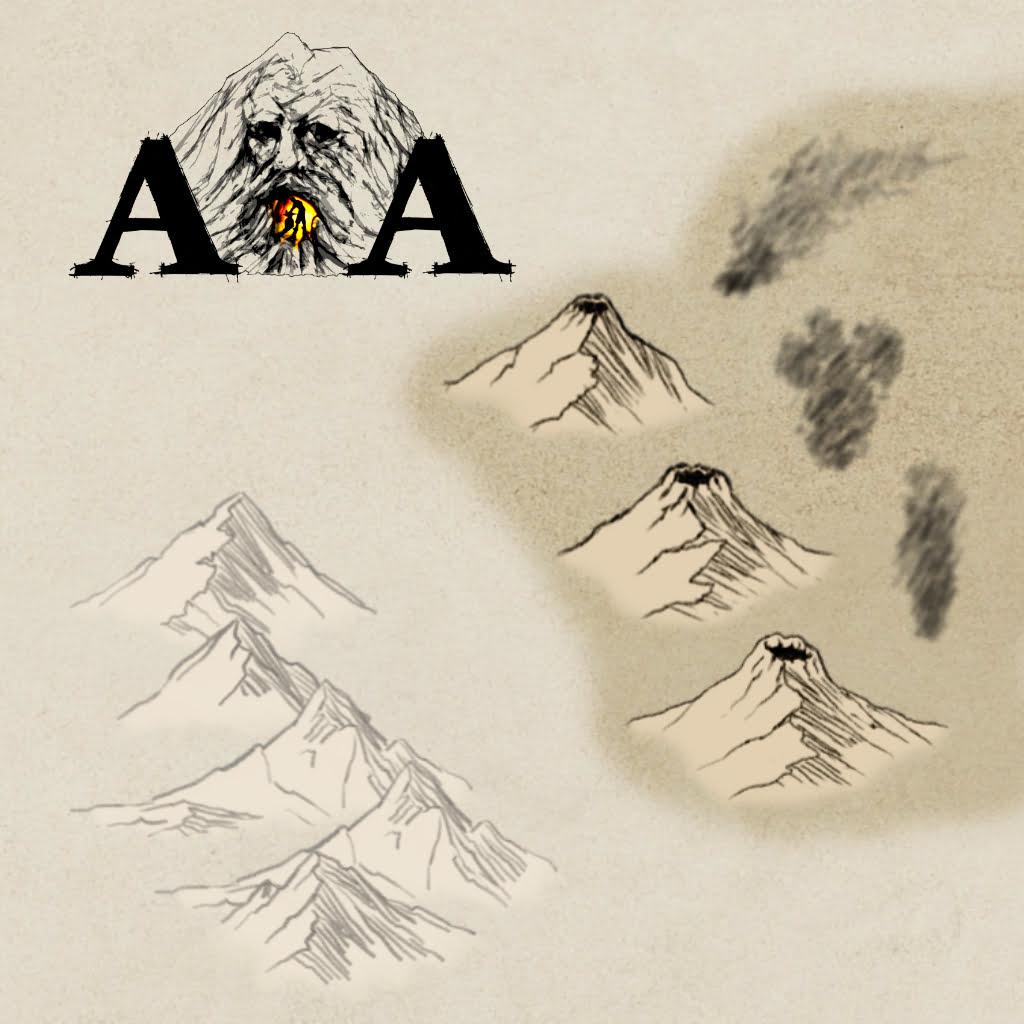 AoA Volcanoes Pencil