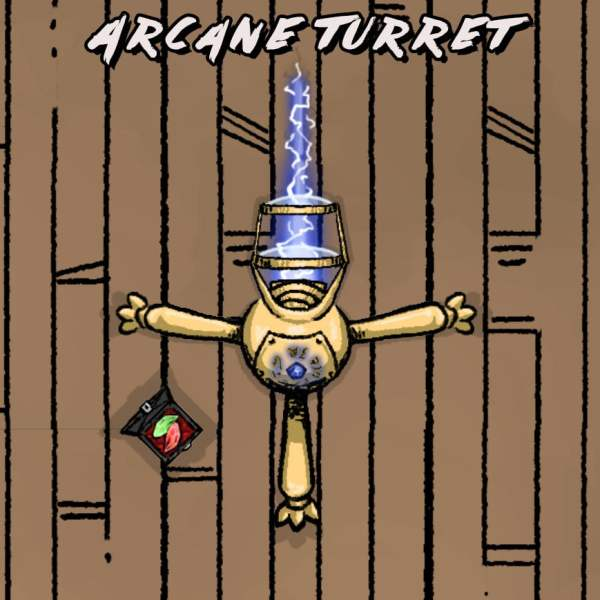 Arcane Turret Preview