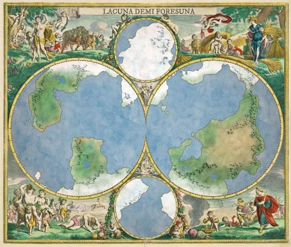 4-globe overlay example