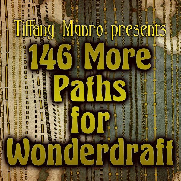 146 Paths for Wonderdraft roads railway pathway roadway rubble ruins walls towers seams markers