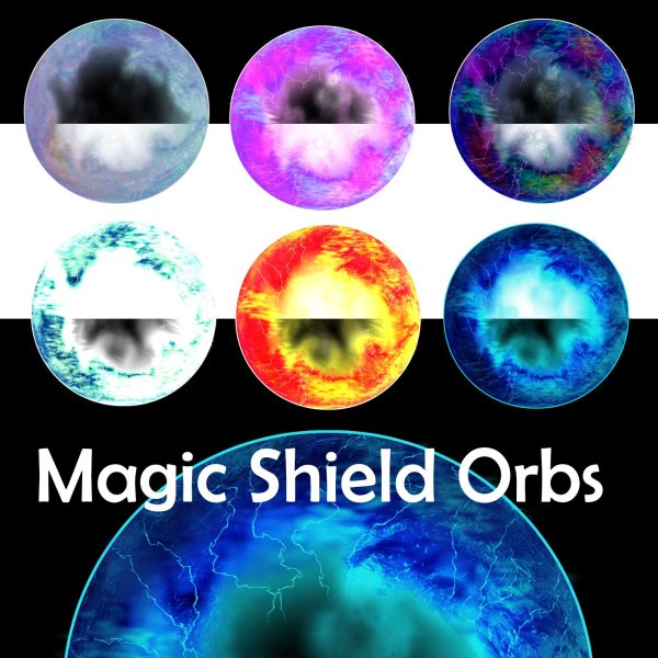 Magic Shield Orbs demo