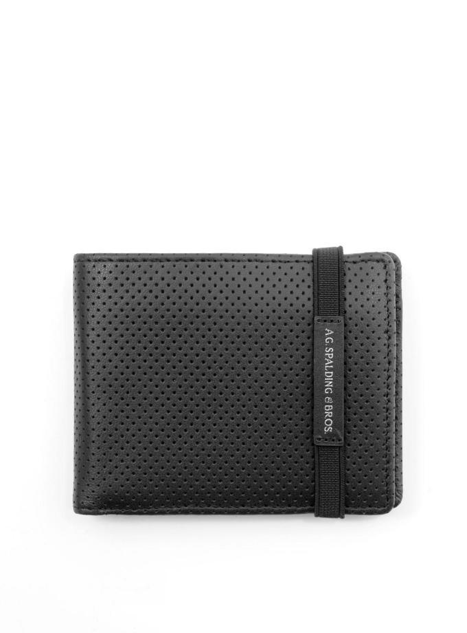 Spalding & Bros - Fulton - Portafoglio con porta monete e flap - Cartoleria Rossi Mantova