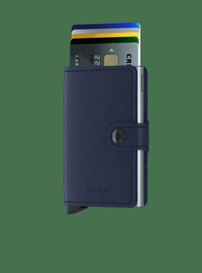 Secrid - Cardprotector - Mini Wallet - Collezione 2021 - Navy - Cartoleria Rossi Mantova dal 1927