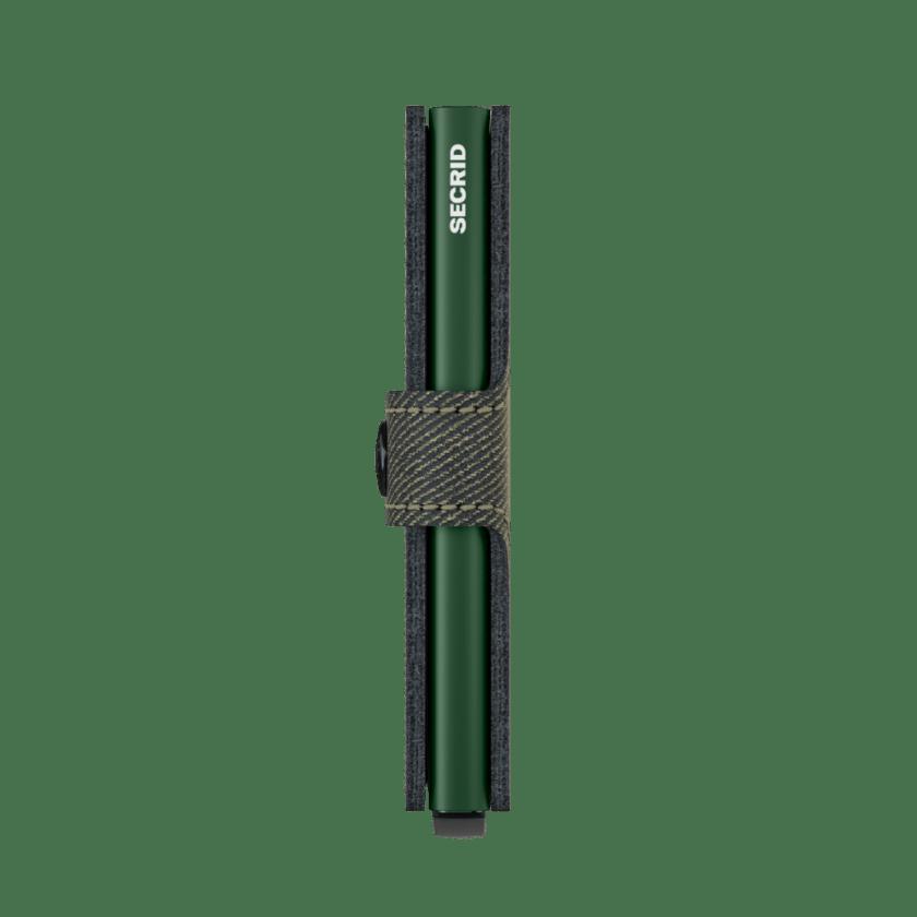 Secrid - Miniwallet - Twist in pelle effetto tessuto - Collezione 2021 - Cartoleria Rossi Mantova dal 1927