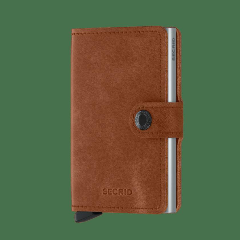 Secrid - Cardprotector - Mini Wallet Vintage - Collezione 2021 - Cognac - Cartoleria Rossi Mantova dal 1927