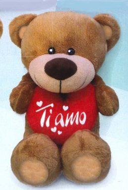peluche orso cuore ti amo