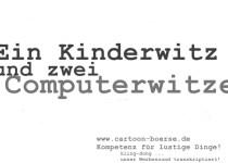 kinderwitz und computerwitze