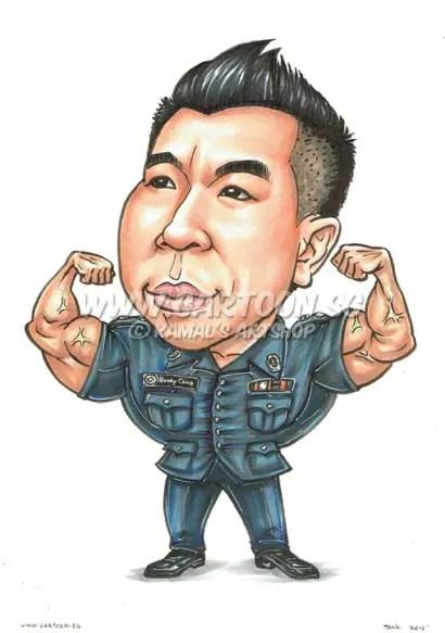 2016-06-17-Hunk-Guy-Police-Uniform-Tight-Sleeve-Macho