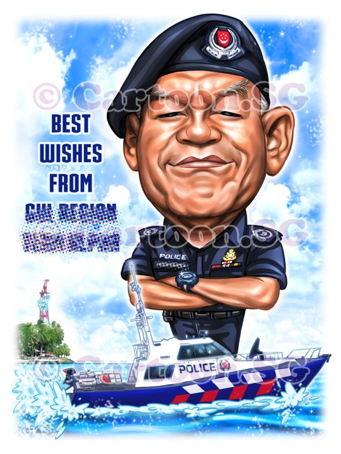 Gift for a Police Coast Guard