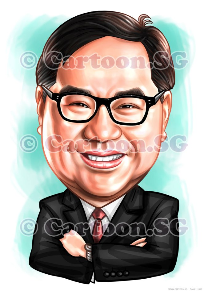 A head shot portrait of a successful businessman in corporate attire. Sharp suit Sir!