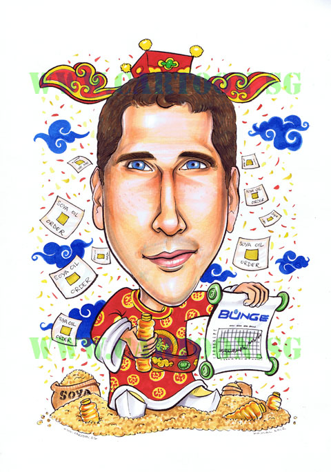 God of Fortune, Good luck Gift, Business,Corporate Gift, Chinese New Year