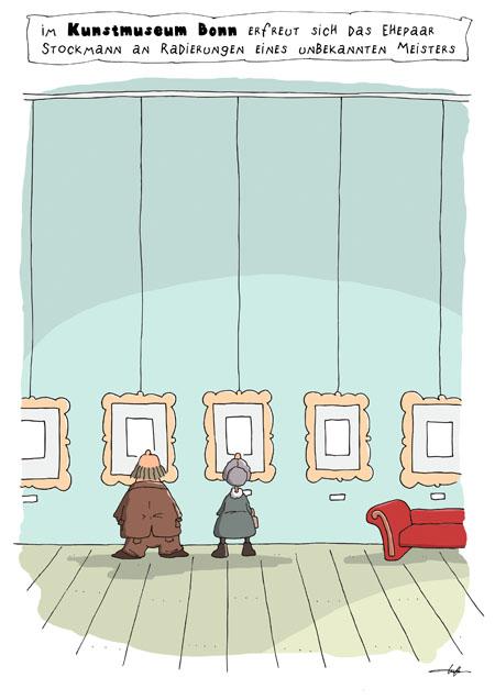 Thomas Luft, Cartoon, Lustig, Radierungen