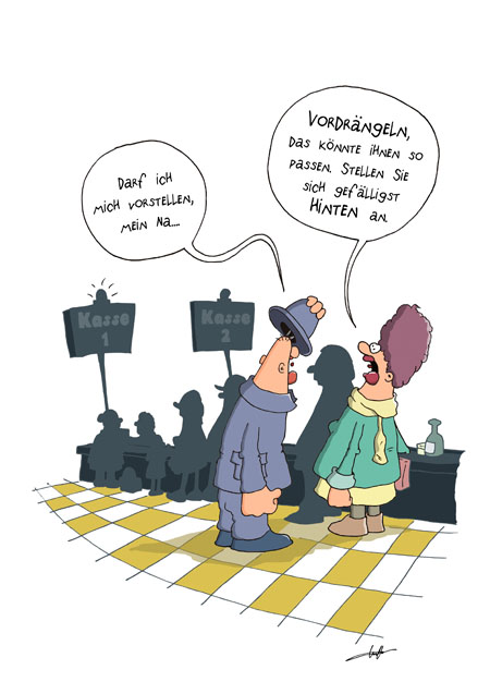 Thomas Luft, Cartoon, Lustig, Vorstellen