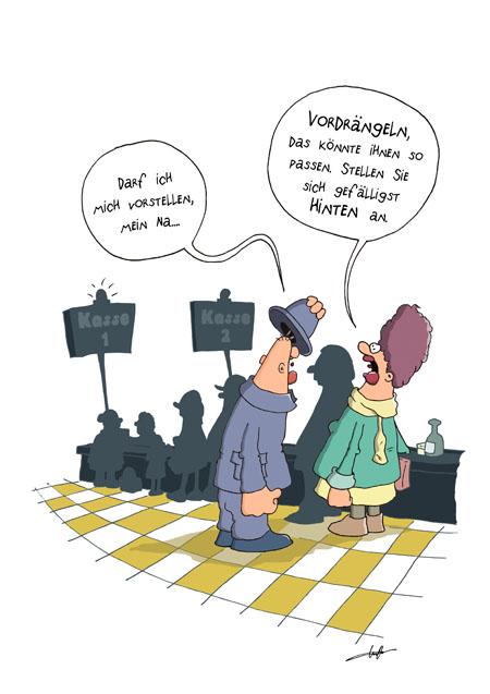 Thomas Luft, Cartoon, Lustig, Vorstellen