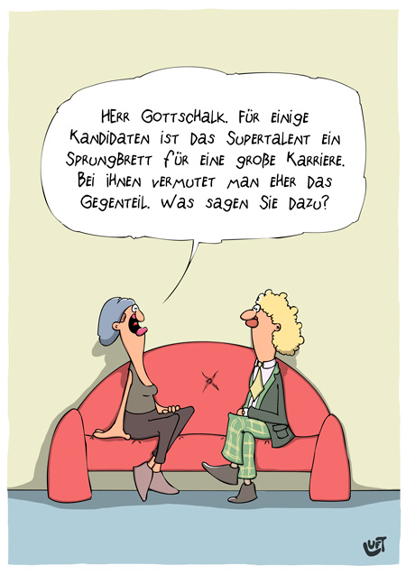 Thomas Luft, Cartoon, Lustig, Thomas Gottschalk