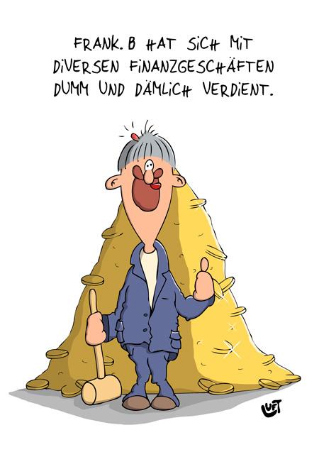 Thomas Luft, Cartoon, Lustig, Dumm und Dämlich