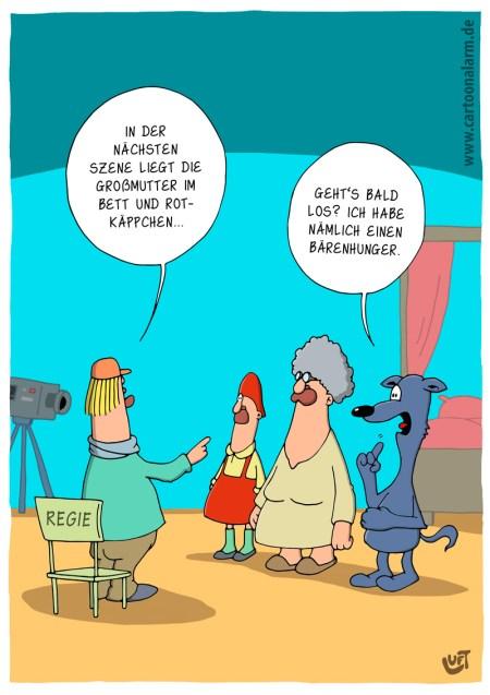 Thomas Luft, Cartoon, lustig, Hunger