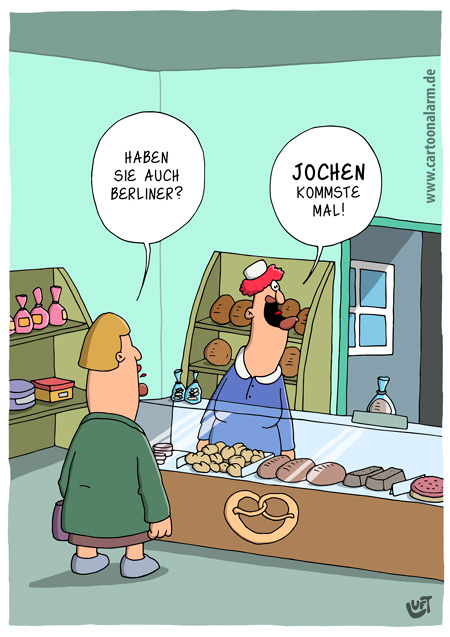 Thomas Luft, Cartoon, lustig, Berliner