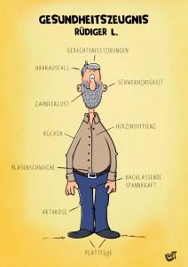 Thomas Luft, Cartoon, Geburtstagskarte