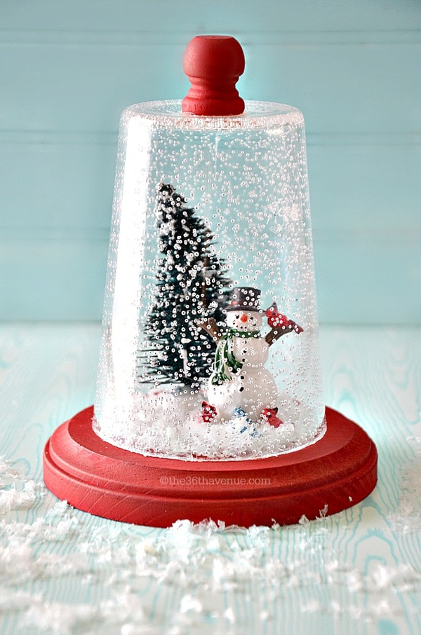 40 DIY Christmas Snow Globe Ideas For Kids
