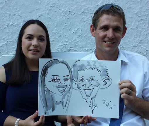 superfast caricatures