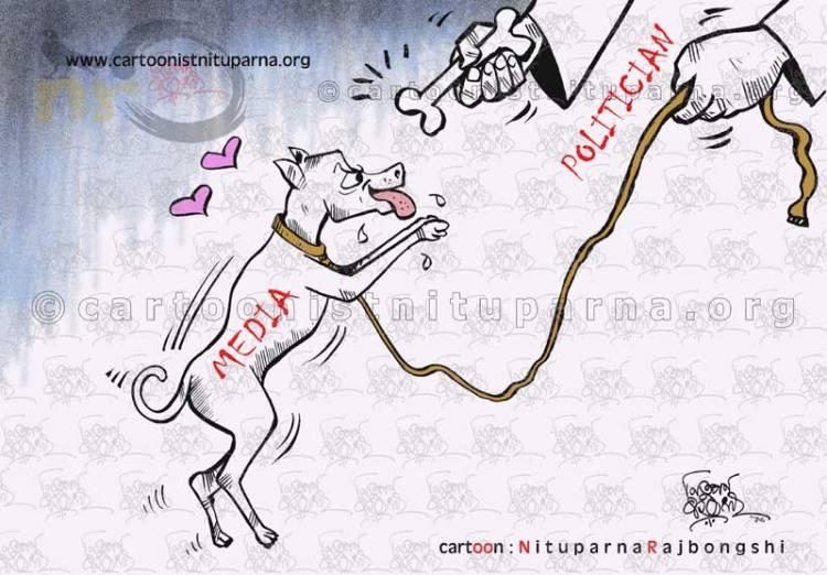Faithfully-Theirs cartoon by Nituparna Rajbongshi