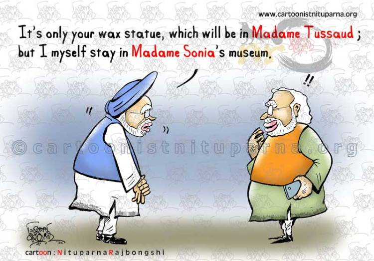 Madame matters most cartoon by Nituparna Rajbongshi