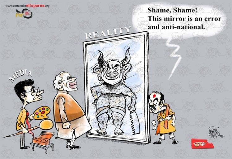 Nrendra Modi, Indian Media, LokSabha Election2019