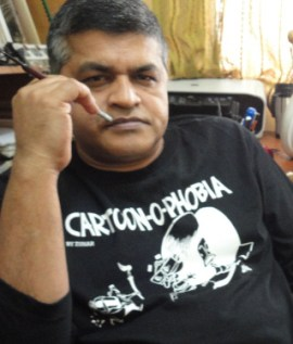Zunar_BlackTshirt_Large