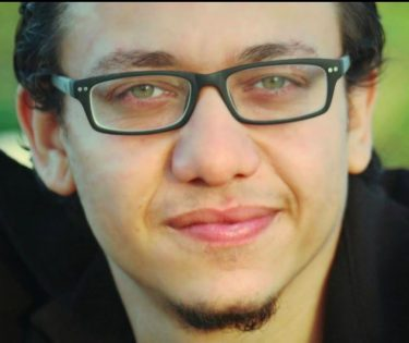 Photo of cartoonist Islam Gawish