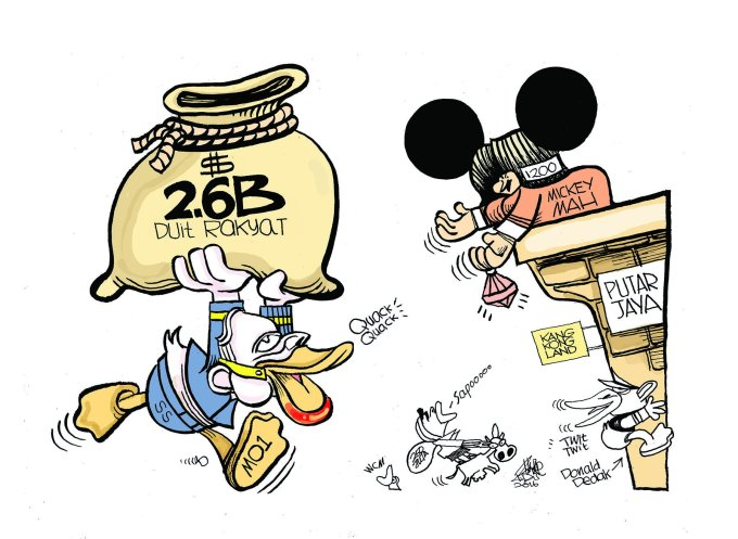 zunar-donald-duck