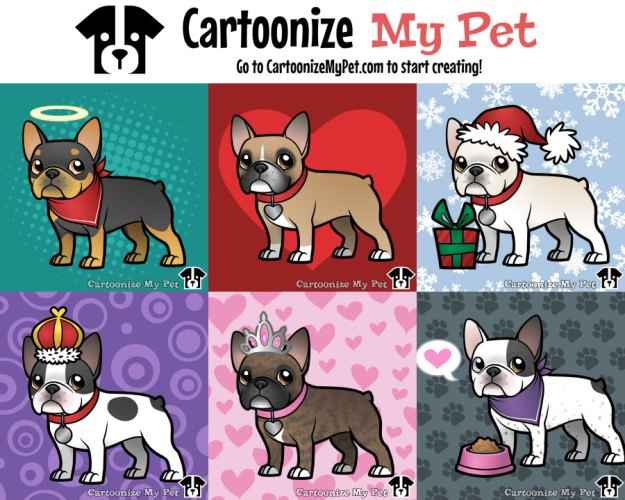Cartoon Frenchie Cartoonize My Pet Blog