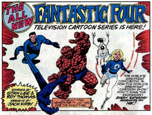 Image result for The New Fantastic Four cartoon